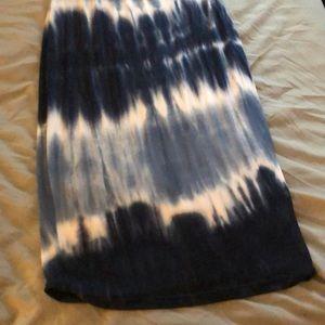 Fashion Nova Dresses - Women's fashion nova tie dye cross back dress